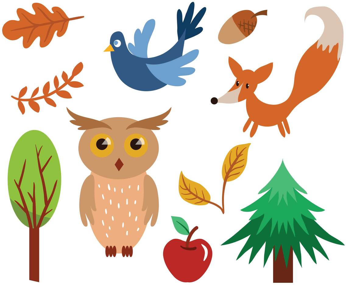 Free Forest Vectors