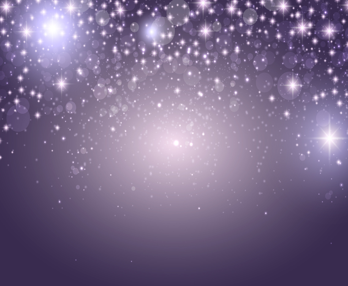 Vector Abstract Background With Shiny Stars