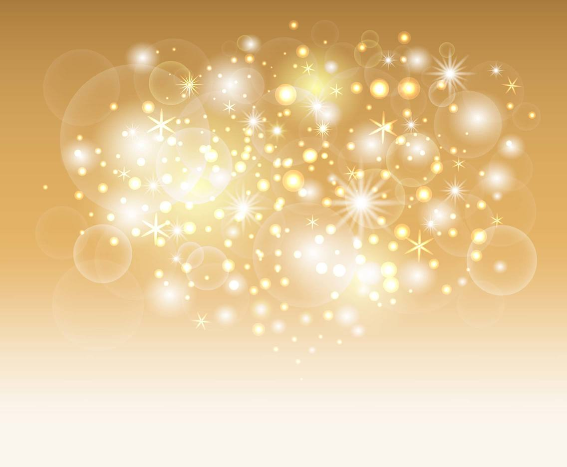 Free Sparkle Background and Glitters Vector