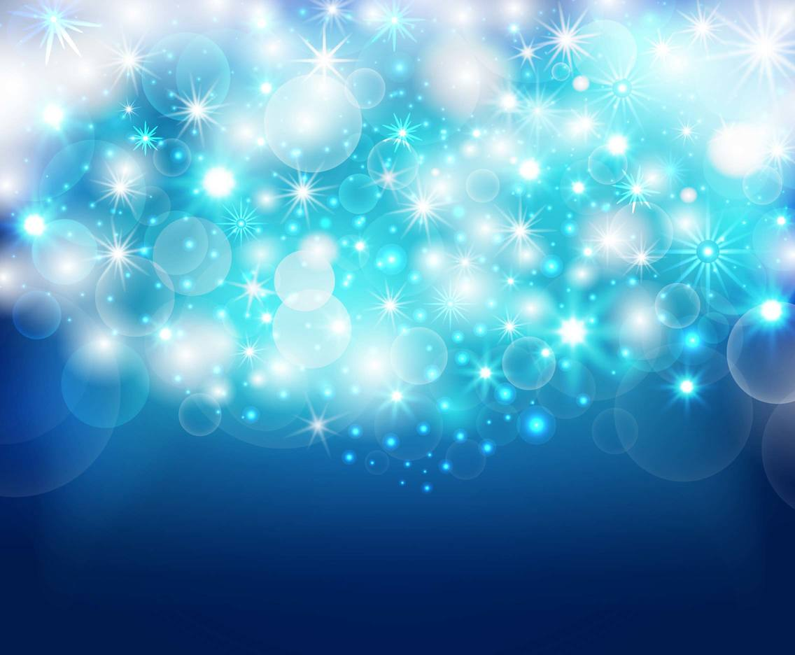 Free Sparkle Blue Background Vector