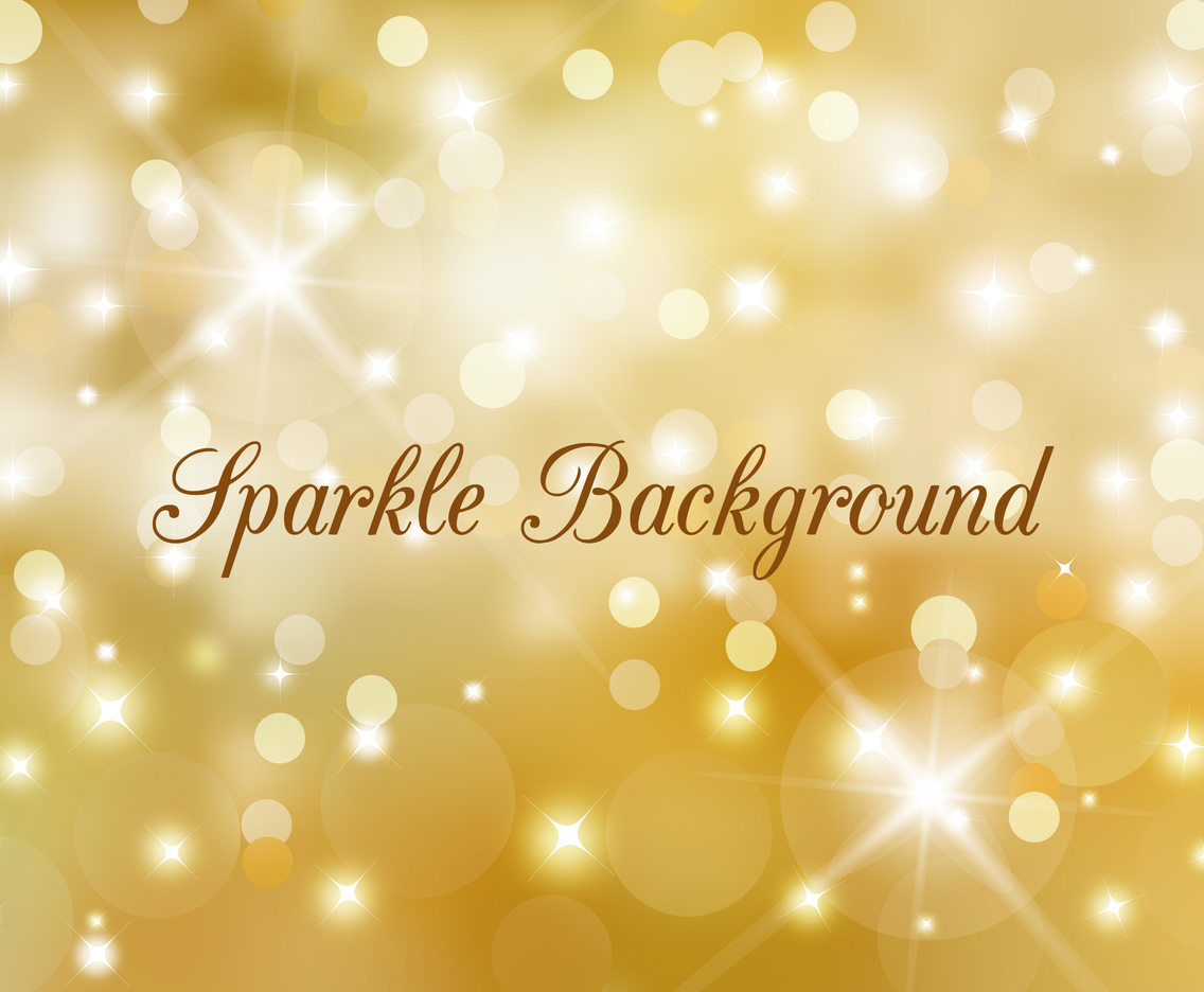 Free Vector Golden Sparkle Background