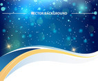 Sparkle Bright Shine Background Vector
