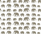 Elephant Pattern Background