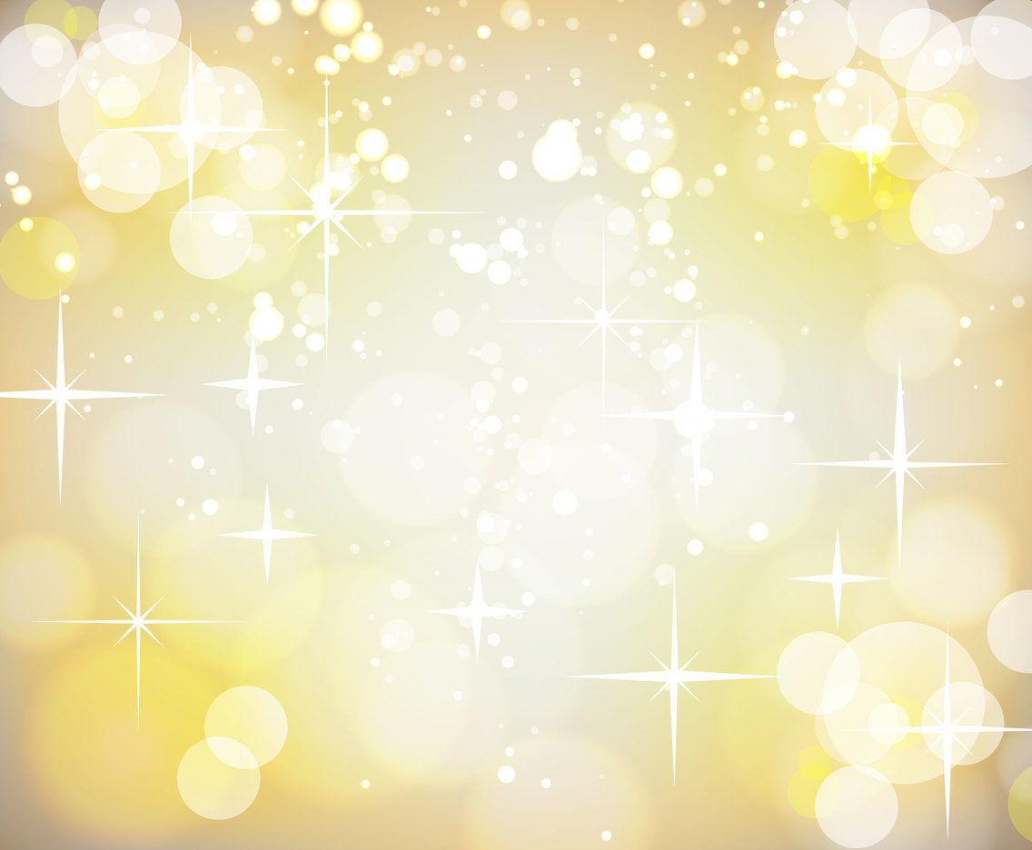 Gold Sparkle Background Vector
