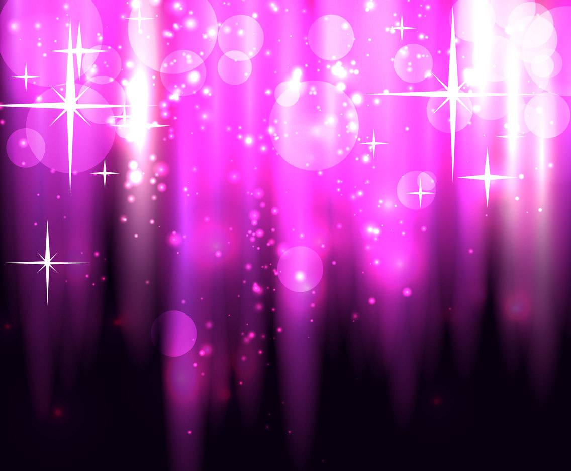 Purple Sparkle Background Vector