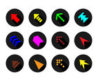 Free Arrow Button Icon Vector