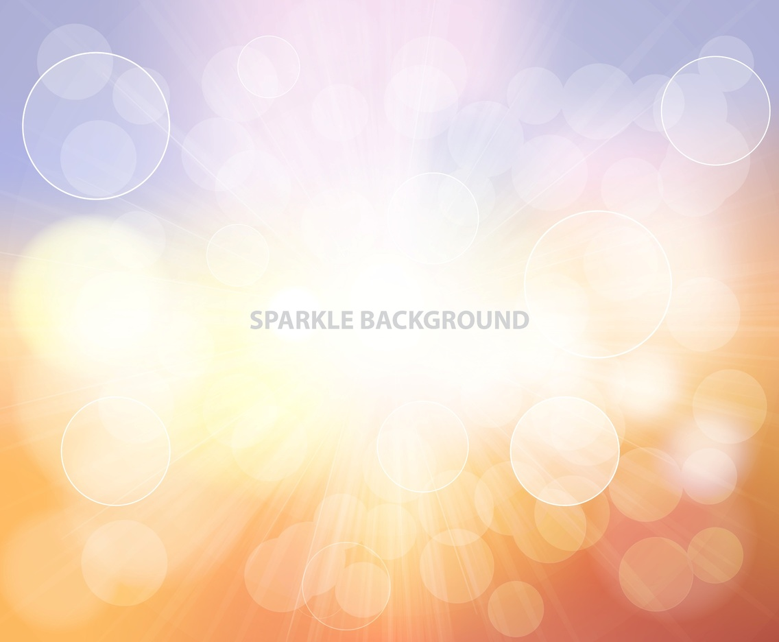 Sparkle Center Shine Background Vector
