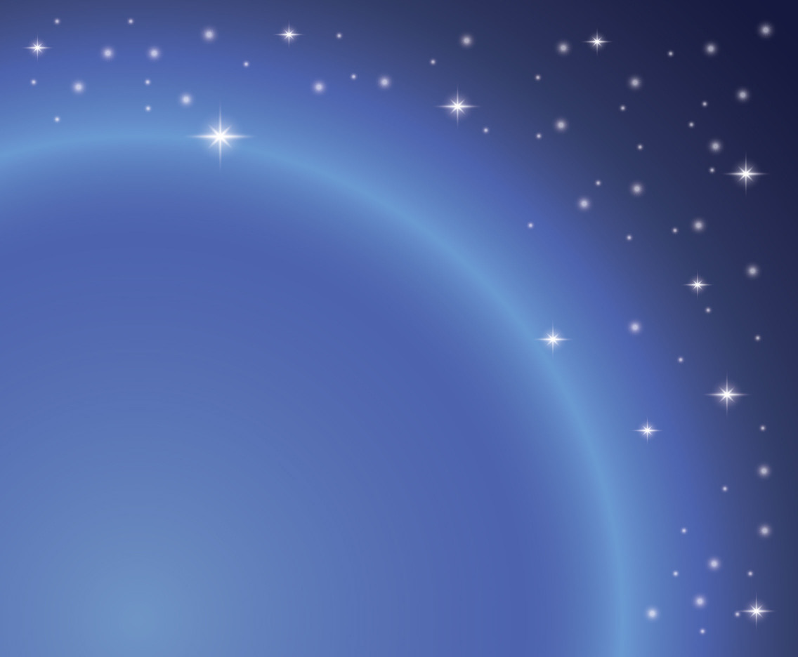 Blue Star Background