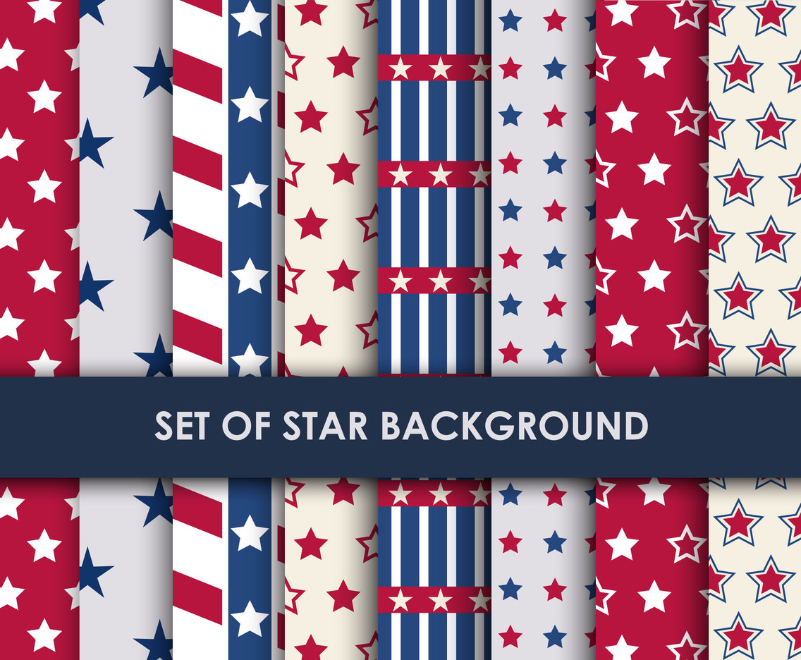 Patterned Star Backgrounds