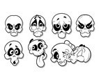 Free Cartoon Skull Vector