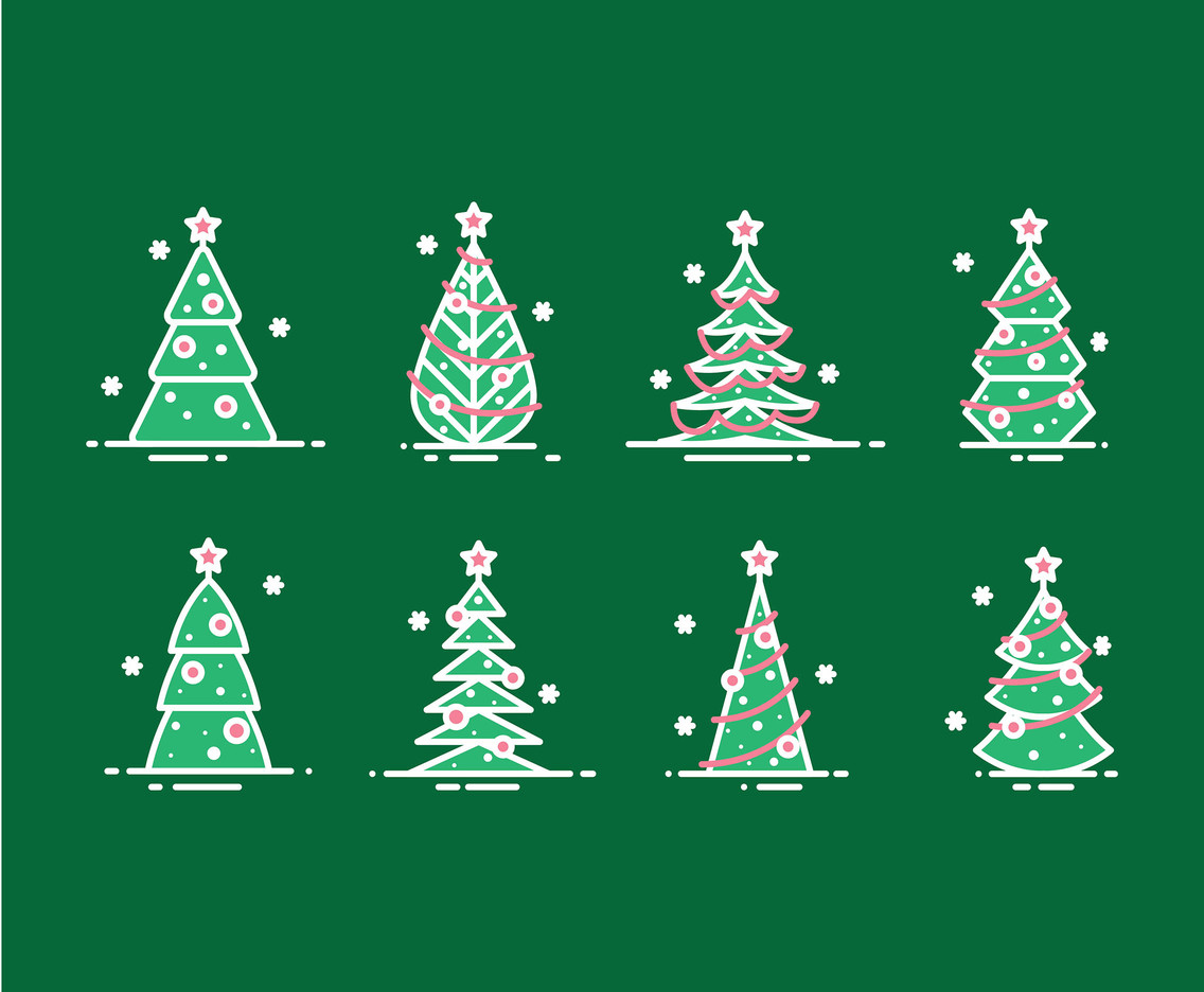 Cartoon Christmas Tree Simple Vector Art Graphics Freevector Com Take a look at our large collection of festive coloring sheets. cartoon christmas tree simple vector