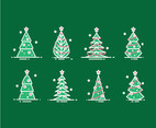 Cartoon Christmas Tree Simple