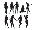 Woman Silhouette Vector Pack