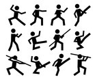 Free Sports Person Icons Vector