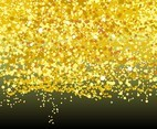 Free Gold Sparkle Background Vector