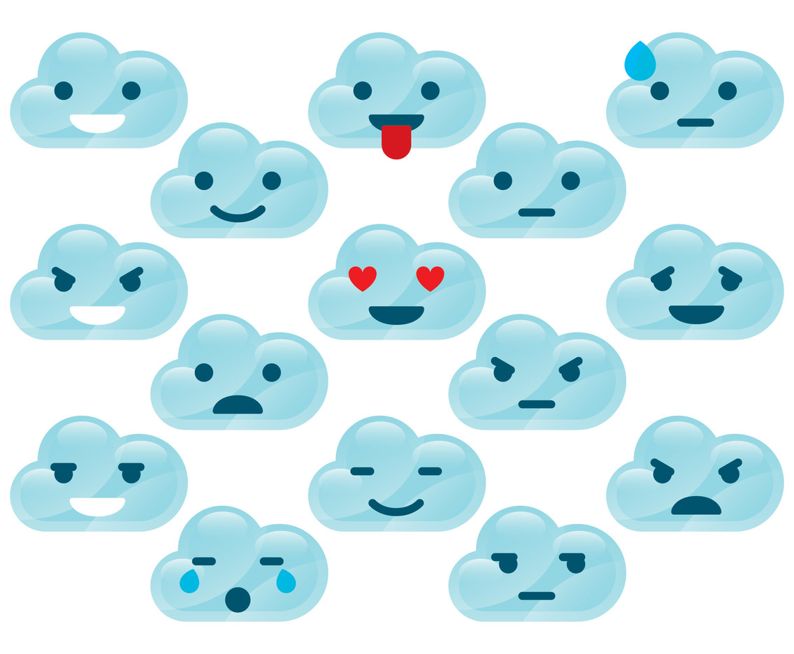 Cloud Emoticons