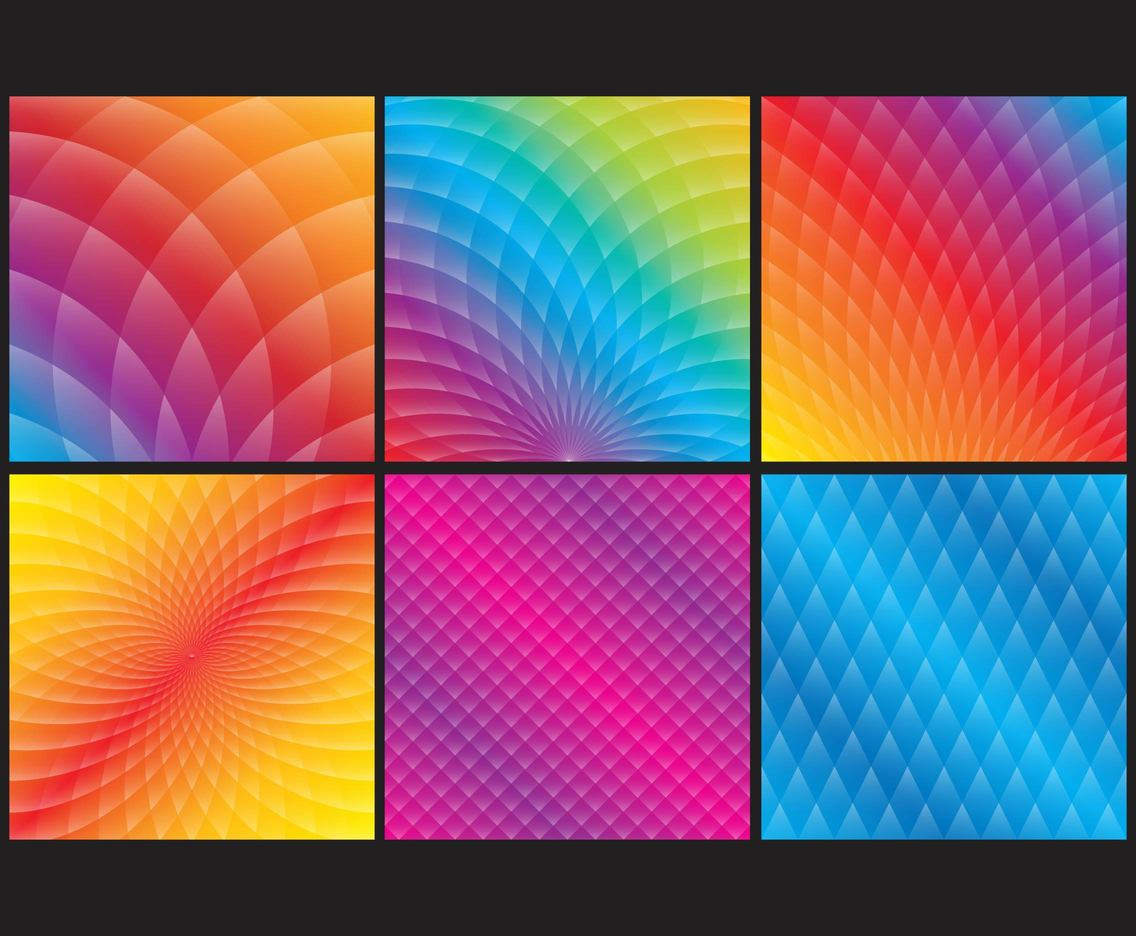 Colorful Gradient Backgrounds