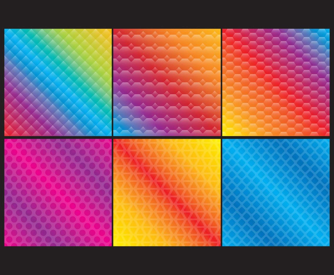 Colorful Gradient Patterns