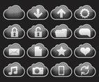Metal Cloud Icons