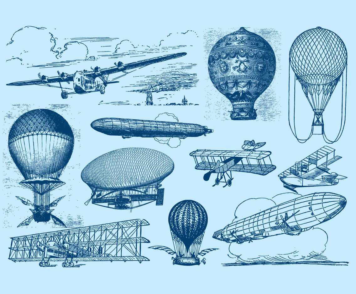 Vintage Flying Machines
