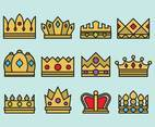 Cute Crown Icons