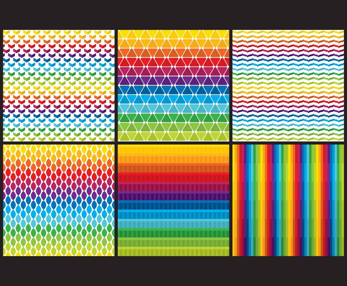 Gradient Colorful Patterns