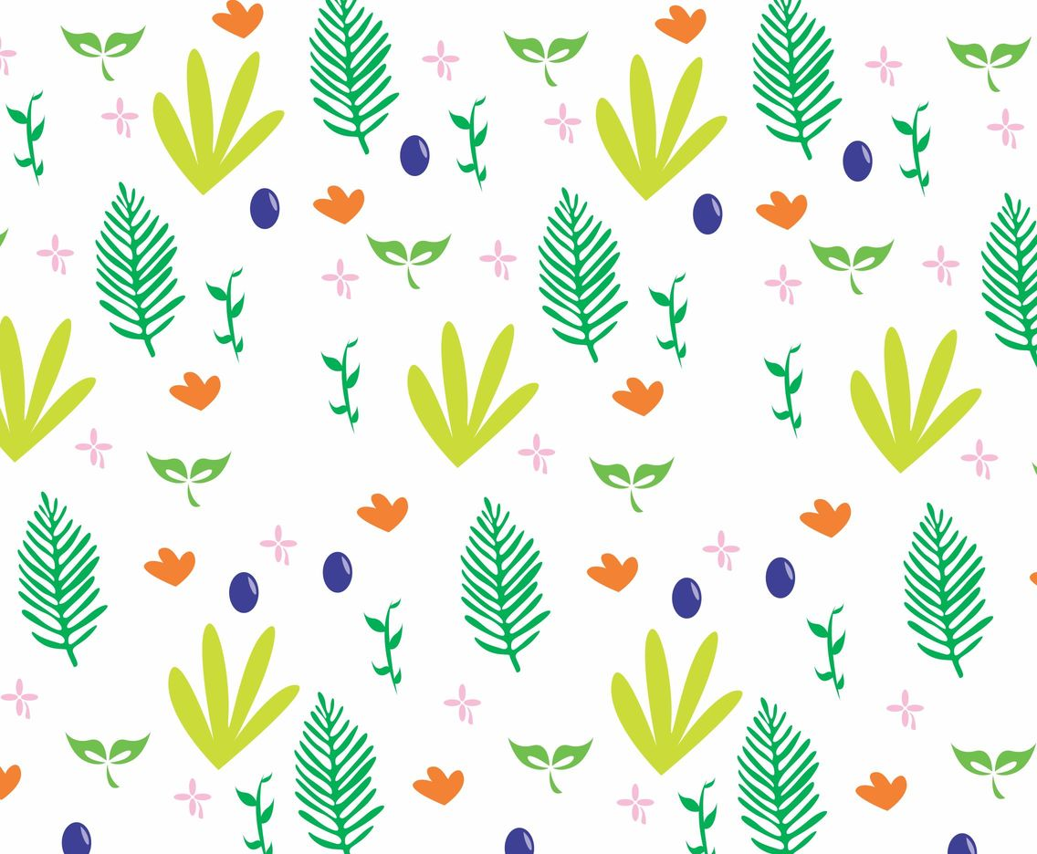 Leaf Pattern Vectorpattern