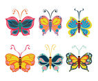 Beautiful Butterfly Clipart Vector