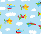Colorful Flyers Pattern