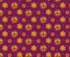 Nice Hippie Pattern Background