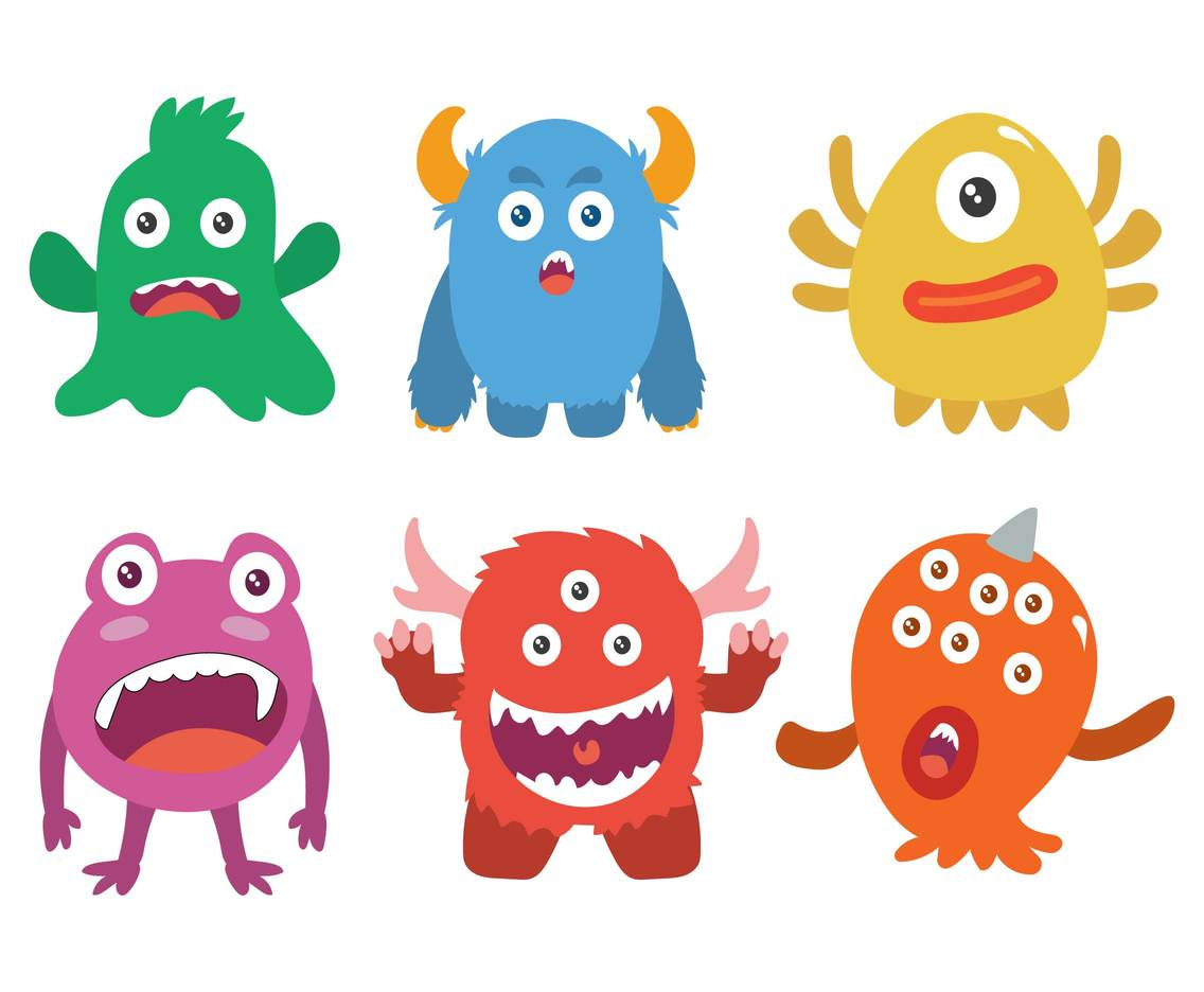 Cartoon Monster Vector