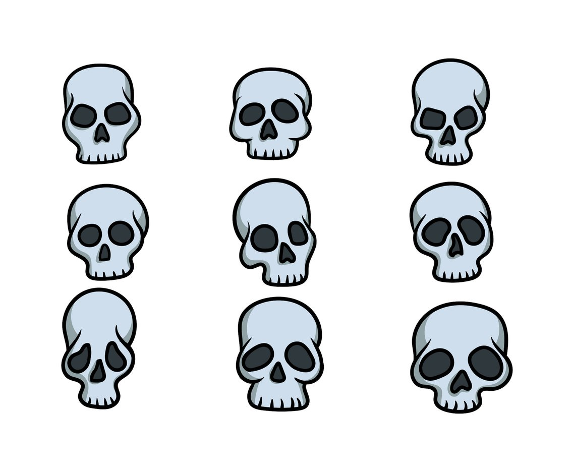cartoon skull vector vector art amp graphics freevectorcom