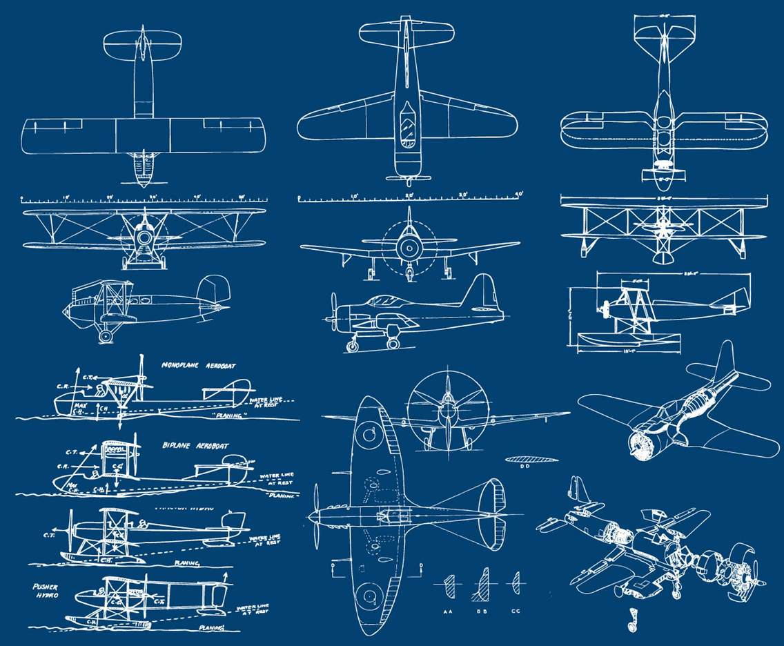 Airplanes Blueprint