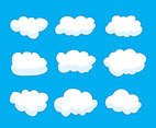 Cartoon Clouds Vector