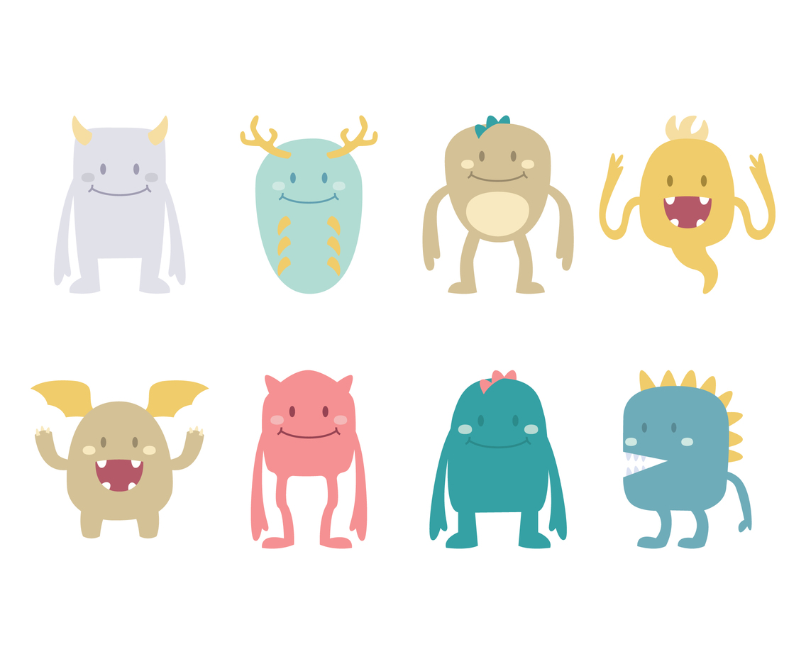 Funny Monster Set