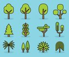 Cute Tree icons