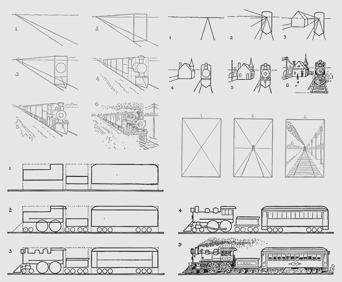 Train Drawing Guides