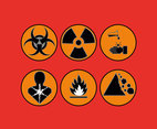 Threat Icons Vector