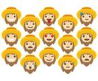 Farmer Emoticons