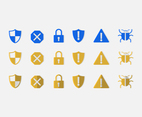 Key Lock Icon Set