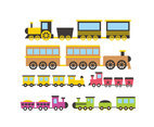 Cartoon Cho Cho Train Vector