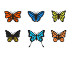 Free Butterfly Clip Art Vector