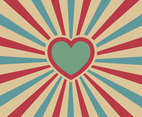Free Hearts Background Vector