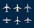 Free Cartoon Plane Vector