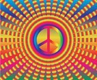 Free Hippie Backgrounds Vector