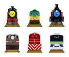 Free Train Cartoon Vector