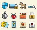 Cute Threat Icons