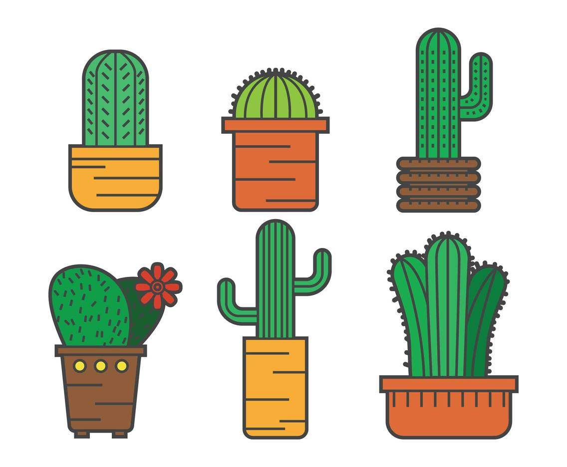 Cactus Vector Pack