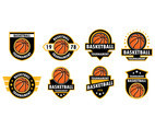 Basketball Logos Vector