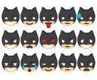 Super Hero Emoticons